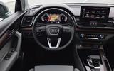 9 audi q5 sportback 2021 first drive review dashboard