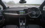 Audi S3 Sportback 2020 road test review - dashboard