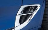 Bentley Continental GT 2018 Autocar road test review aero vents