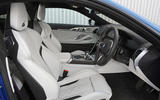 BMW M8 Competition coupe 2020 road test review - cabin