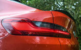 BMW X4 M Competition 2019 road test review - rear lights