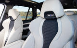 BMW X5 M Competition 2020 road test review - seats