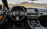 BMW X6 M Competition 2020 road test review - dashboard
