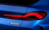 BMW X6 M50i 2019 road test review - rear lights