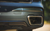 BMW X7 2020 road test review - exhaust