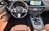 BMW Z4 2018 review - dashboard