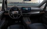 9 Cupra Born 2021 first drive review dashboard