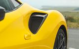 Ferrari 488 Pista 2019 road test review - rear wheel aero