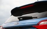 Ford Fiesta ST 2018 road test review boot lid