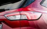 Ford Kuga 2020 road test review - rear lights
