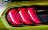 Ford Shelby Mustang GT500 2020 road test review - rear lights