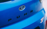 9 Ford Puma ST 2021 road test review rear badge