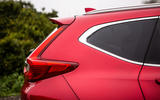 Honda CR-V 2018 road test review - rear three quarters