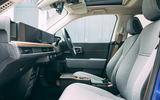 Honda e 2020 road test review - cabin