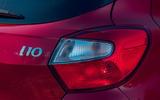 Hyundai i10 2020 road test review - rear lights