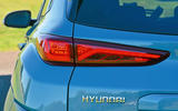 Hyundai Kona Electric 2018 road test review - rear lights