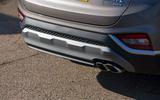 Hyundai Santa Fe 2019 road test review - exhausts