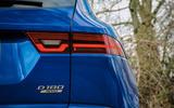 Jaguar E-Pace review rear lights
