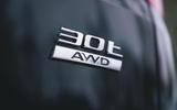 Jaguar XF Sportbrake 2019 road test review - rear badge