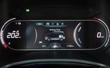 Kia Soul EV 2019 European first drive - instruments