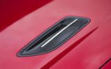 Kia Stinger GT line 2018 review bonnet air vent