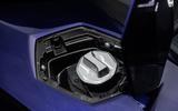 Lamborghini Aventador SVJ 2019 road test review - fuel filler cap