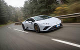Lamborghini Huracan EVO RWD 2020 road test review - on the road front