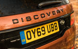 Land Rover Discovery Sport 2020 road test review - rear logo