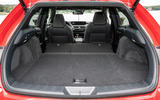 Lexus UX 2018 road test review - boot seats down