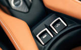 McLaren 720S Spider 2019 road test review - roof controls