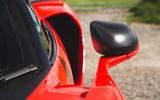 McLaren Senna 2018 road test review - wing mirrors
