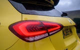 Mercedes-AMG A45 S 4Matic+ 2020 road test review - rear lights