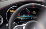 Mercedes-AMG C43 Coupe 2018 road test review instrument cluster