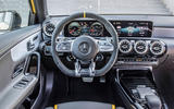 Mercedes-AMG CLA 45 S 2019 road test review - dashboard