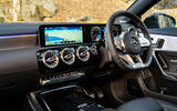 Mercedes-AMG CLA35 2020 road test review - dashboard