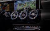 Mercedes-Benz A-Class saloon 2018 review - air vents
