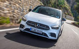 Mercedes-Benz B-Class review - on the road nose