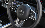 Mercedes-Benz B-Class 2019 road test review steering wheel