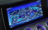 Mercedes-Benz CLS 400d 2018 review infotainment