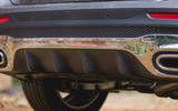 Mercedes-Benz GLB 2020 road test review - rear diffuser