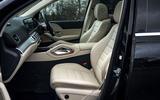 Mercedes-Benz GLS 2020 road test review - cabin