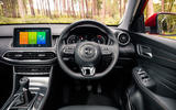 MG HS 2019 road test review - dashboard