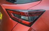 Nissan Juke 2020 road test review - rear lights