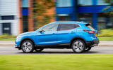 Nissan Qashqai road test review on the road side