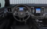 Polestar 1 2020 road test review - dashboard