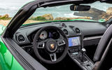 Porsche 718 Boxster GTS 4.0 2020 road test review - dashboard