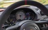 Porsche 718 Cayman GT4 2019 road test review - instruments