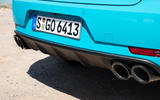 Porsche Macan Turbo 2019 road test review - exhausts