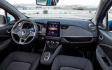 Renault Zoe 2020 road test review - cabin