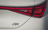 Seat Leon 2020 road test review - rear lights